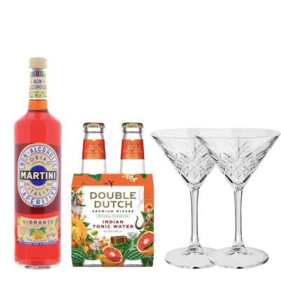 MARTINI NON-ALCOHOLIC VIBRANTE EN TONIC
