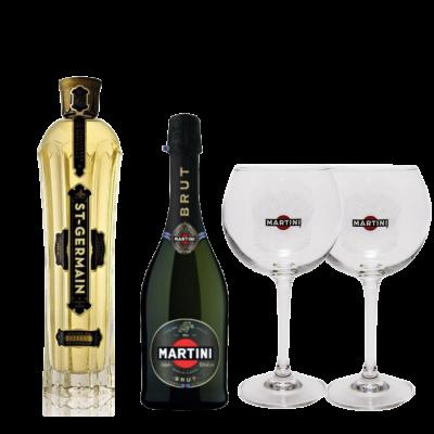 Saint Germain Spritz Met Martini Brut