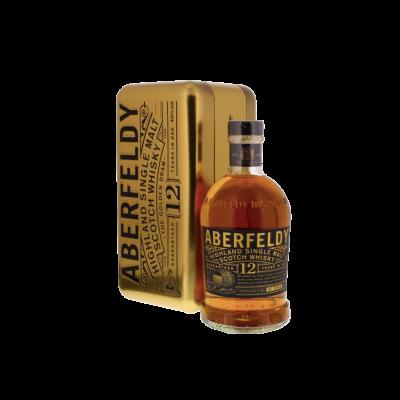 Abderfeldy 12 Jaar Oude Whisky Gold Bar 700ml