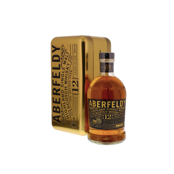 Abderfeldy 12 Jaar Oude Whisky Gold Bar 700ml | Aperoshop