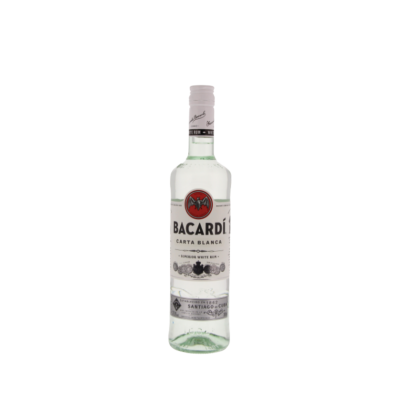 Bacardi Carta Blanca White Rum 700ml
