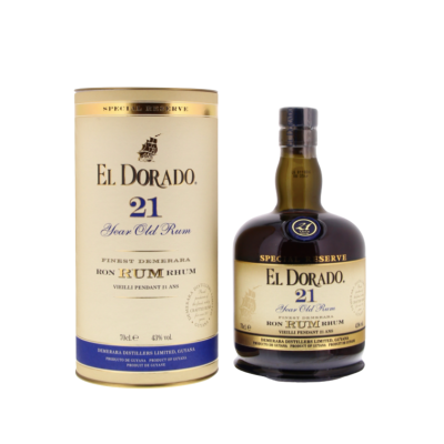 El Dorado Special Reserve Rum 21 years 700ml