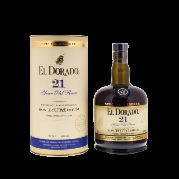 El Dorado Special Reserve Rum 21 years 700ml | Aperoshop