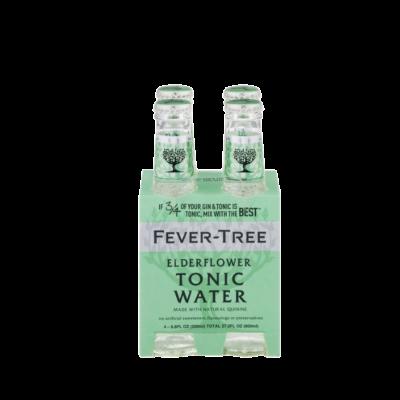 Fever Tree Elderflower Tonic 4pack