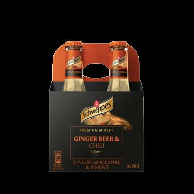 Schweppes Ginger Beer 4 Pack