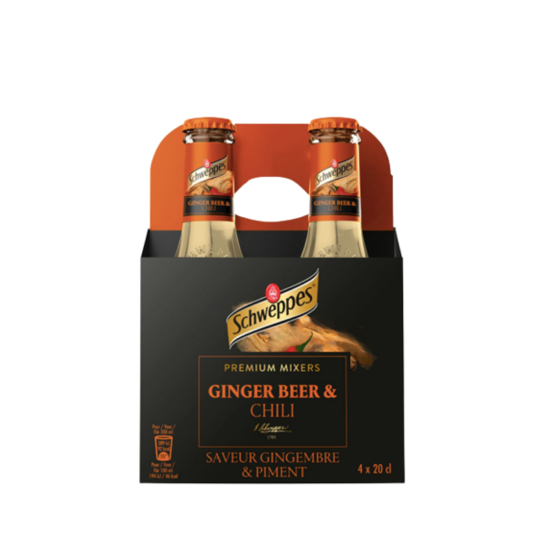Schweppes Ginger Beer 4 Pack | Aperoshop