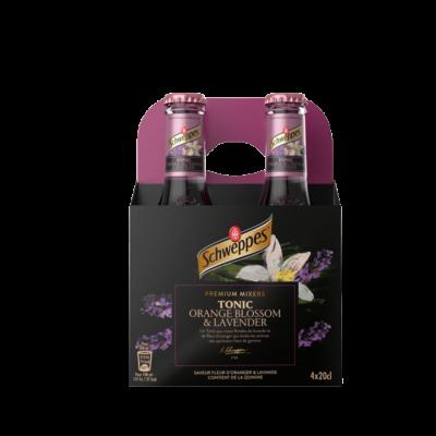 Schweppes Orange Blossom & Lavendel 4 pack