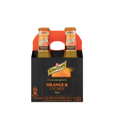 Schweppes Orange Lychee 4 Pack