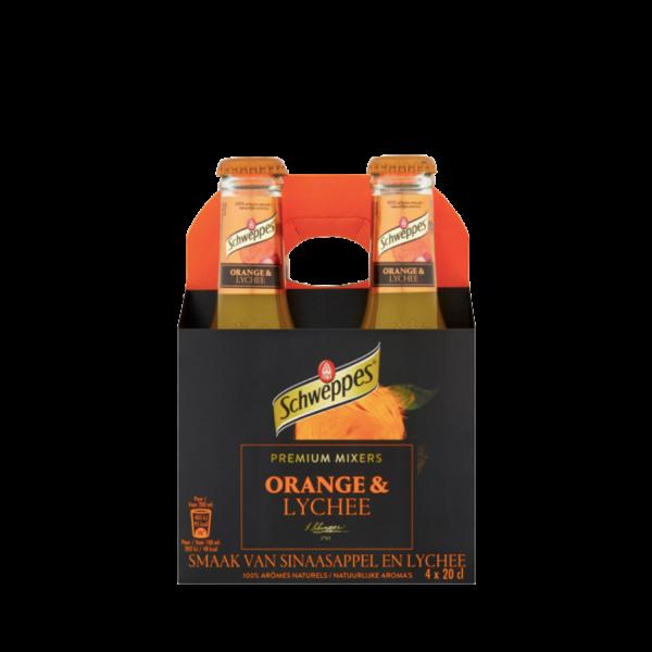 Schweppes Orange Lychee 4 Pack | Aperoshop