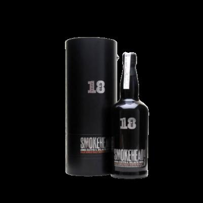 Smokehead Single Malt Scotch Whisky 18 years extra black 700ml