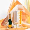 Veuve Clicquot yellow tape box limited edition 750ml