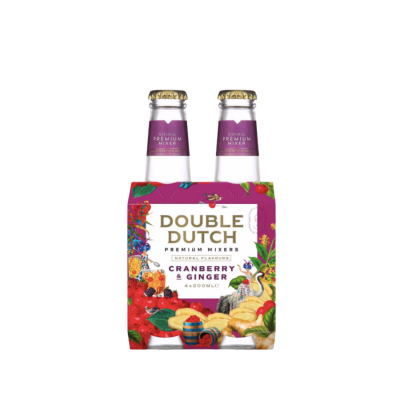 Double Dutch Cranberry & Ginger 4 pack