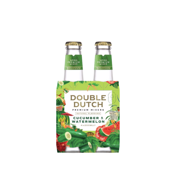 Double Dutch Cucumber & Watermelon 4 Pack