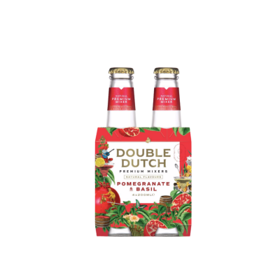 Double Dutch Pomegranate & Basil 4 pack