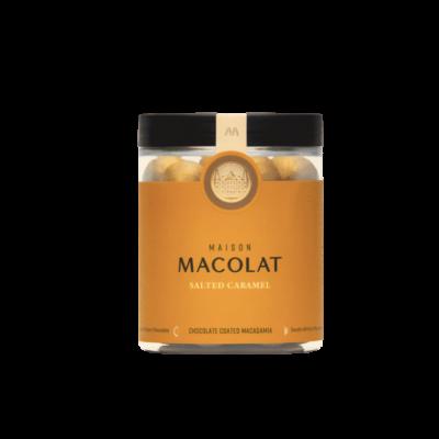 Maison Macolat Salted Caramel Chocolade Macadamia 100g