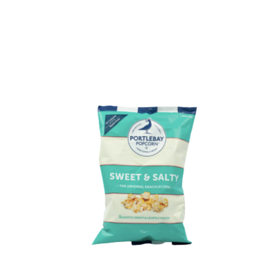 Portlebay Sweet And Salt Popcorn 75g